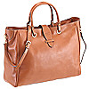 Brics Life Pelle Shopping Bag Umhängetasche 39 cm