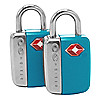 Design Go Reisezubehör TSA Sicherheitsschloss 2er Set