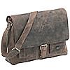 Harolds Antik Messenger Bag aus Leder 39 cm