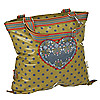 Blutsgeschwister Pattern Mix Treasury Happy Heart Sac Shopper 42 cm