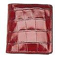 koffer-direkt.de Maitre Egregio Scheintasche 10 cm - dark red