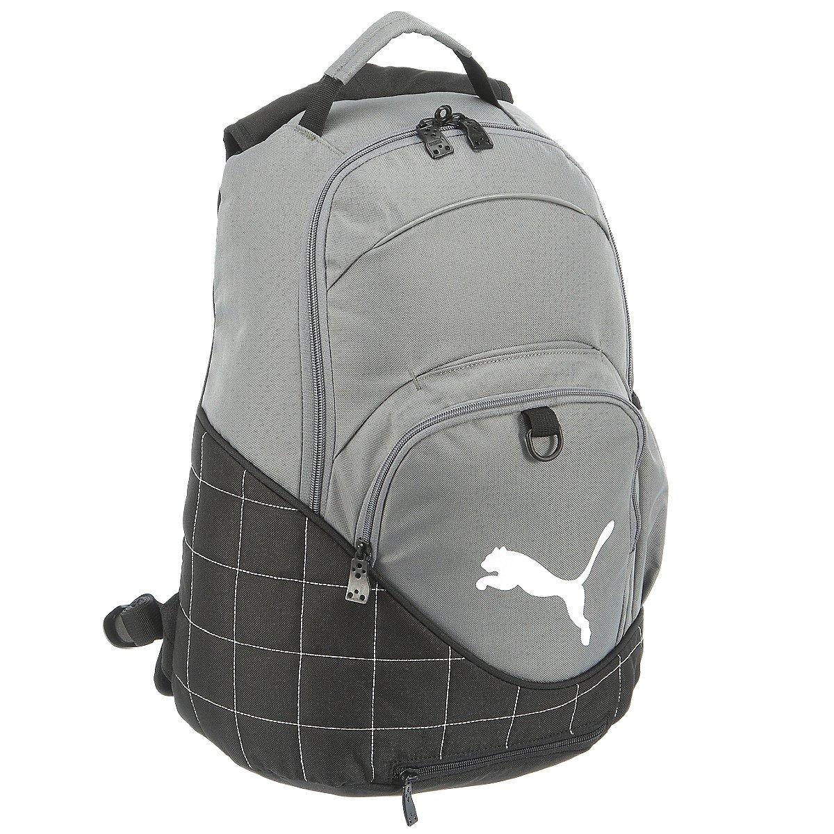Artikel klicken und genauer betrachten! - Innentasche / Inneneinteilung - Laptopfach - In der Hand tragbar - Auf dem Rücken tragbar - Außentasche(n) - Nylon - Grau - | im Online Shop kaufen