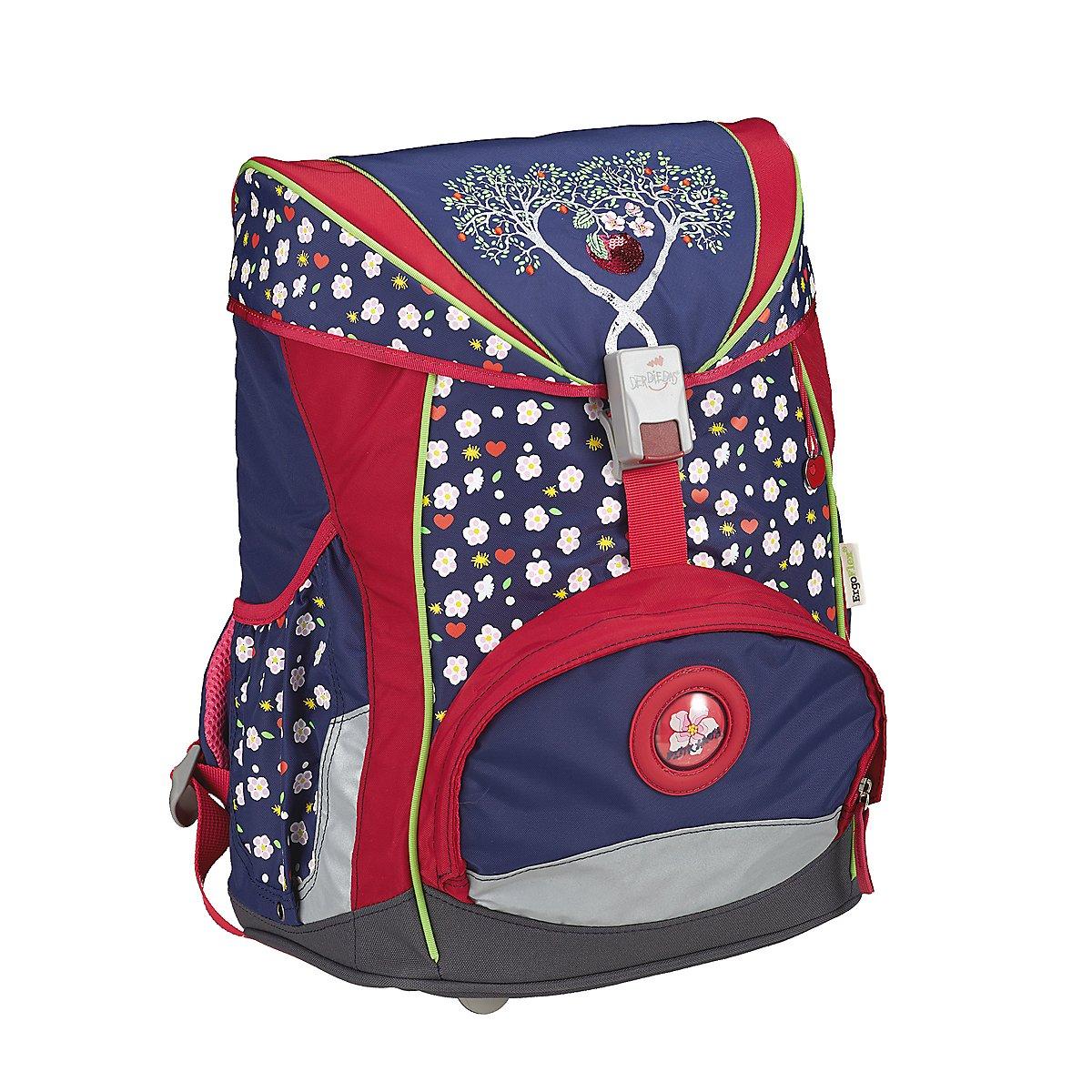 Artikel klicken und genauer betrachten! - Innentasche / Inneneinteilung - Auf dem Rücken tragbar - In der Hand tragbar - Außentasche(n) - Nylon - Bunt - Lila - Pink / Rosa - Rot - Blau - | im Online Shop kaufen