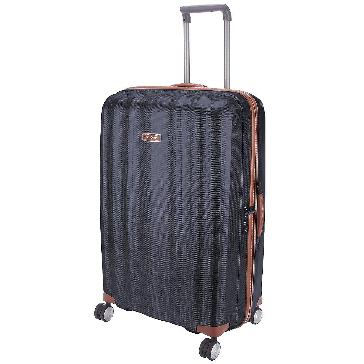 samsonite lite cube dlx 4 rollen trolley 76 cm koffer. Black Bedroom Furniture Sets. Home Design Ideas