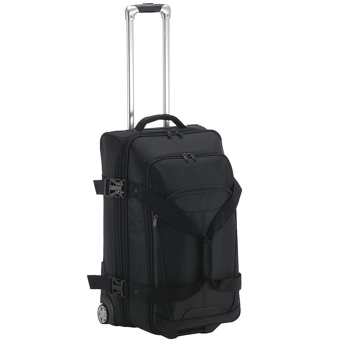 dermata reise doppeldecker reisetasche auf rollen 66 cm. Black Bedroom Furniture Sets. Home Design Ideas