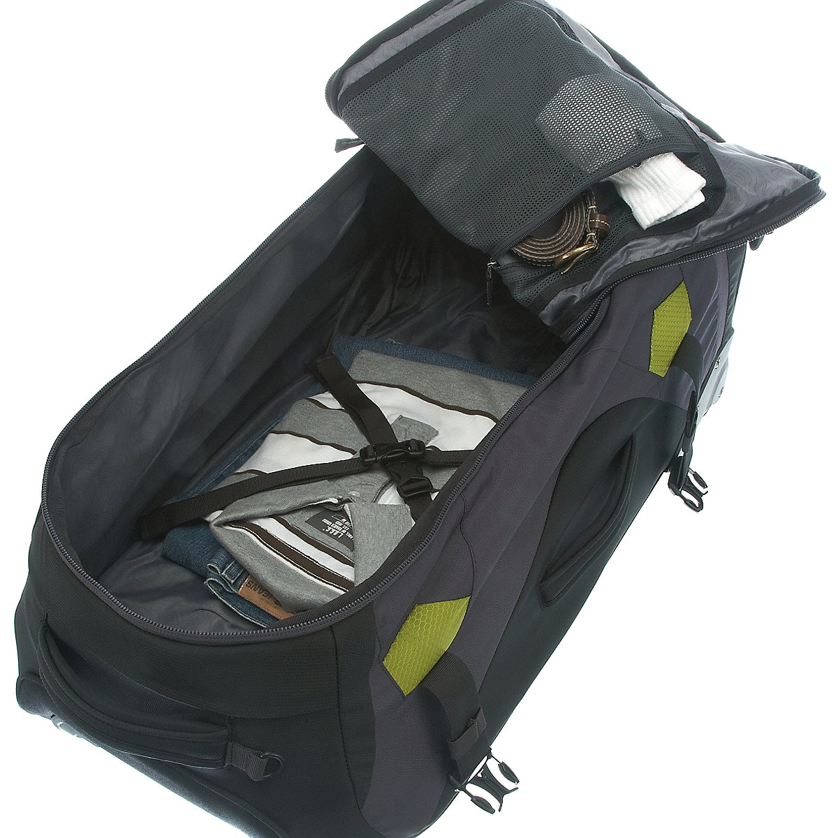 deuter travel helion 80 rucksack auf rollen 75 cm koffer. Black Bedroom Furniture Sets. Home Design Ideas