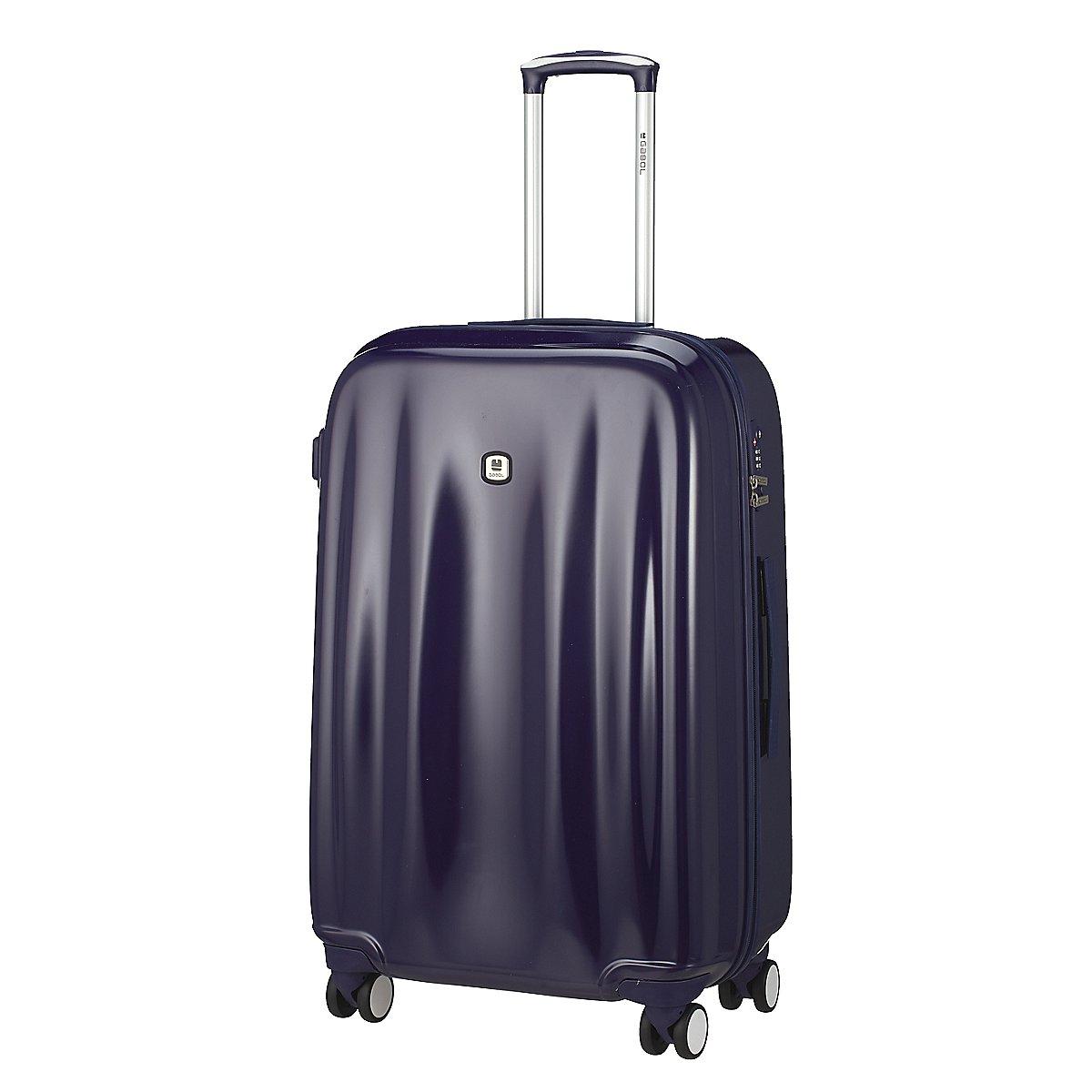 gabol wave 4 rollen trolley 77 cm koffer. Black Bedroom Furniture Sets. Home Design Ideas