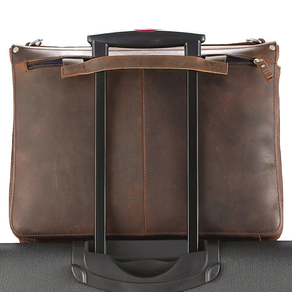 leonhard heyden salisbury aktenmappe mit laptopfach und 3 f chern 42 cm koffer. Black Bedroom Furniture Sets. Home Design Ideas
