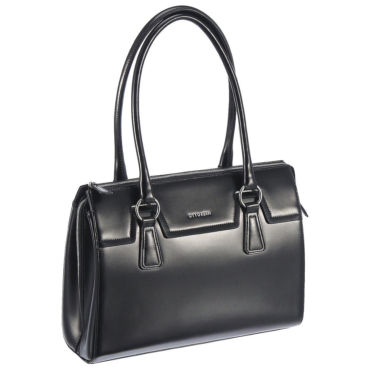 otto kern elegance businesstasche mit laptopfach 37 cm. Black Bedroom Furniture Sets. Home Design Ideas