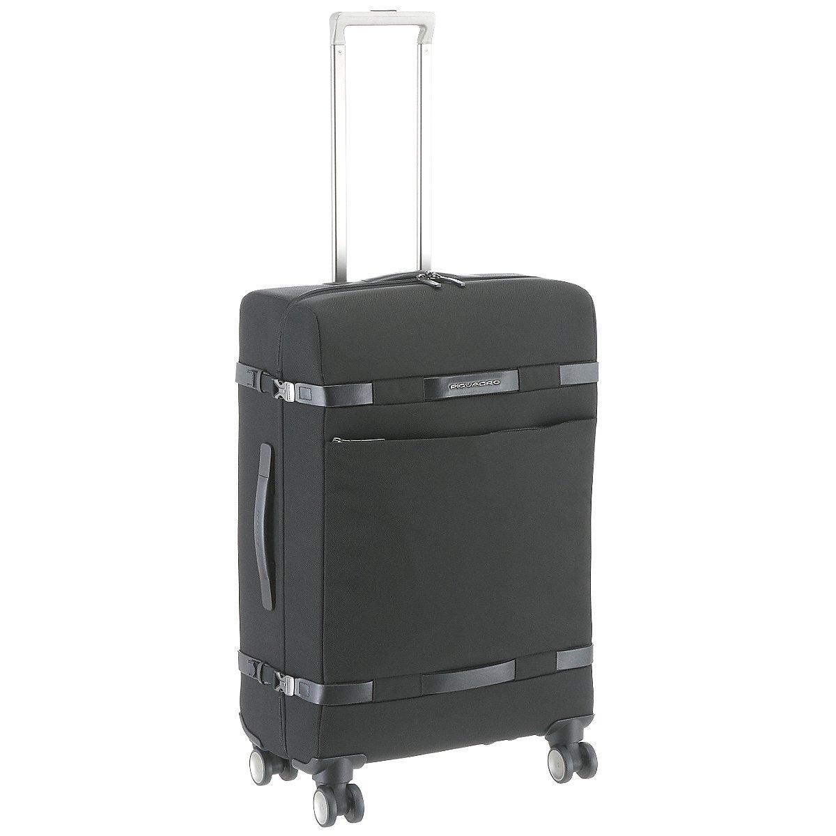 piquadro move2 4 rollen trolley 69 cm koffer. Black Bedroom Furniture Sets. Home Design Ideas