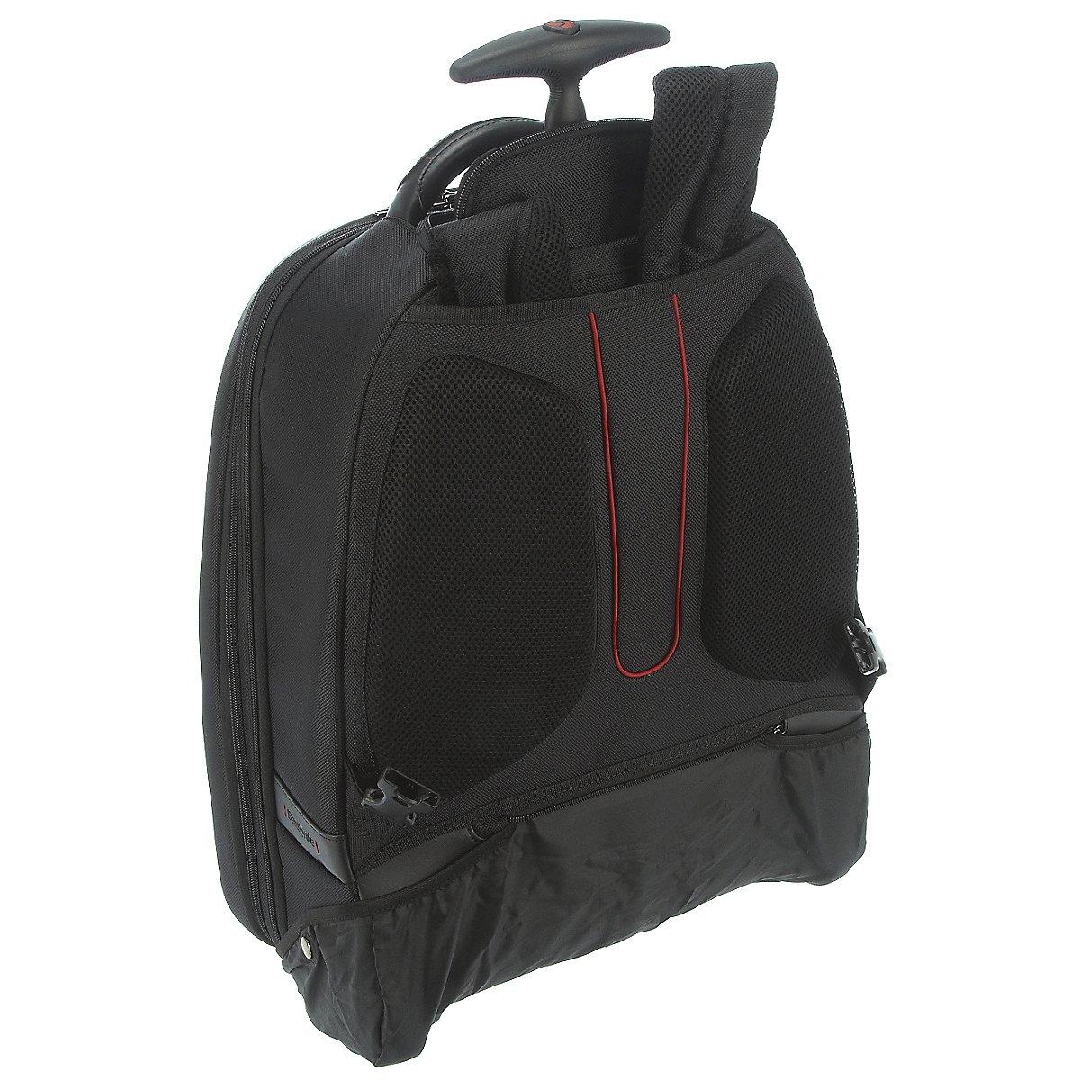 samsonite pro dlx 4 laptop rucksack mit rollen 54 cm koffer. Black Bedroom Furniture Sets. Home Design Ideas