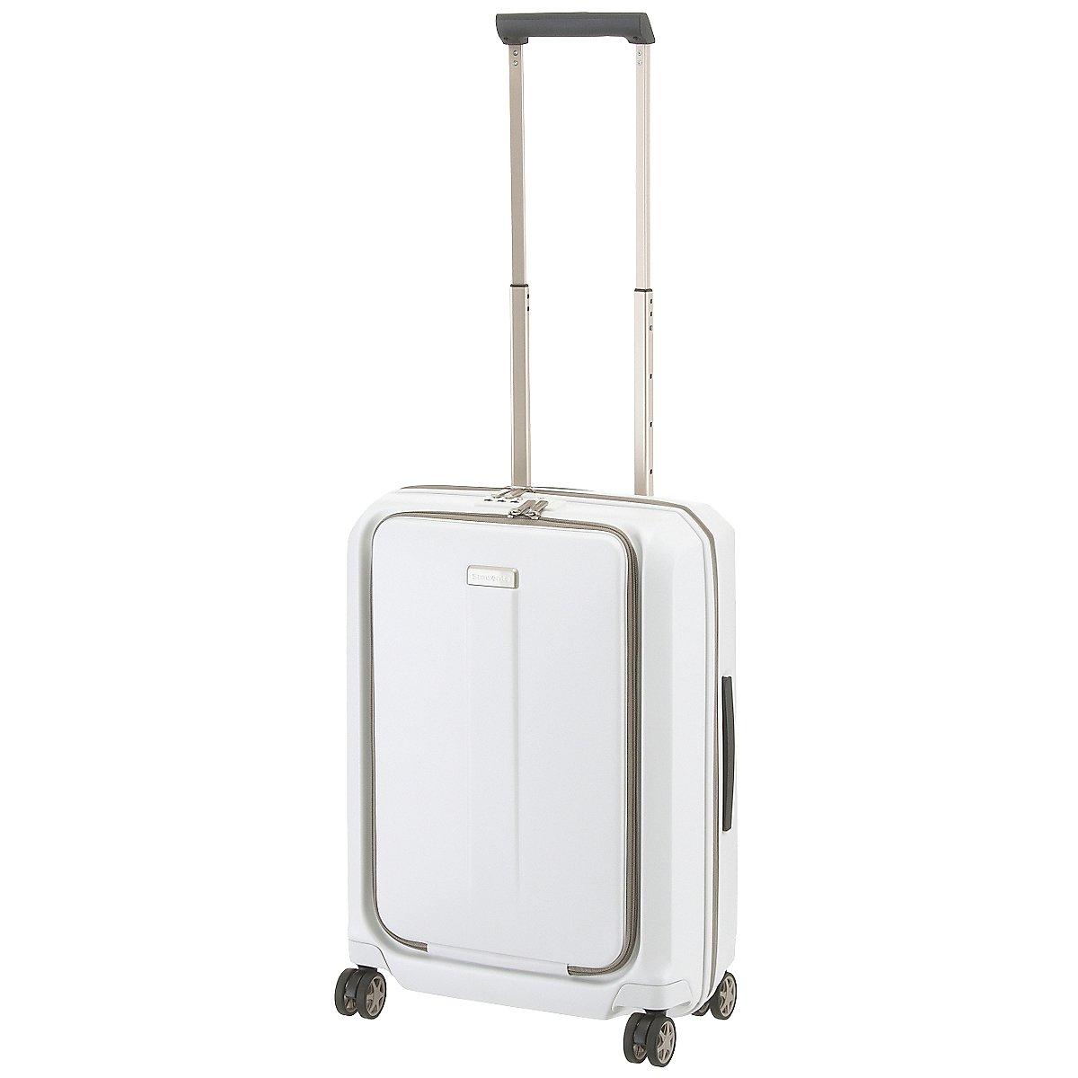 samsonite prodigy 4 rollen trolley 55 cm koffer. Black Bedroom Furniture Sets. Home Design Ideas