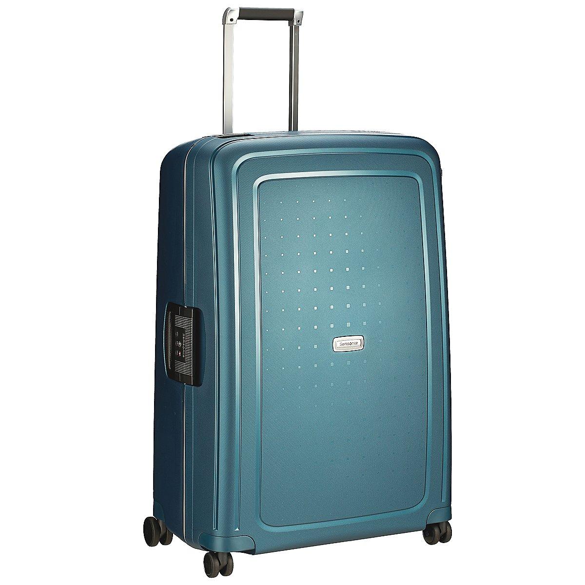 samsonite s cure dlx 4 rollen trolley 81 cm koffer. Black Bedroom Furniture Sets. Home Design Ideas