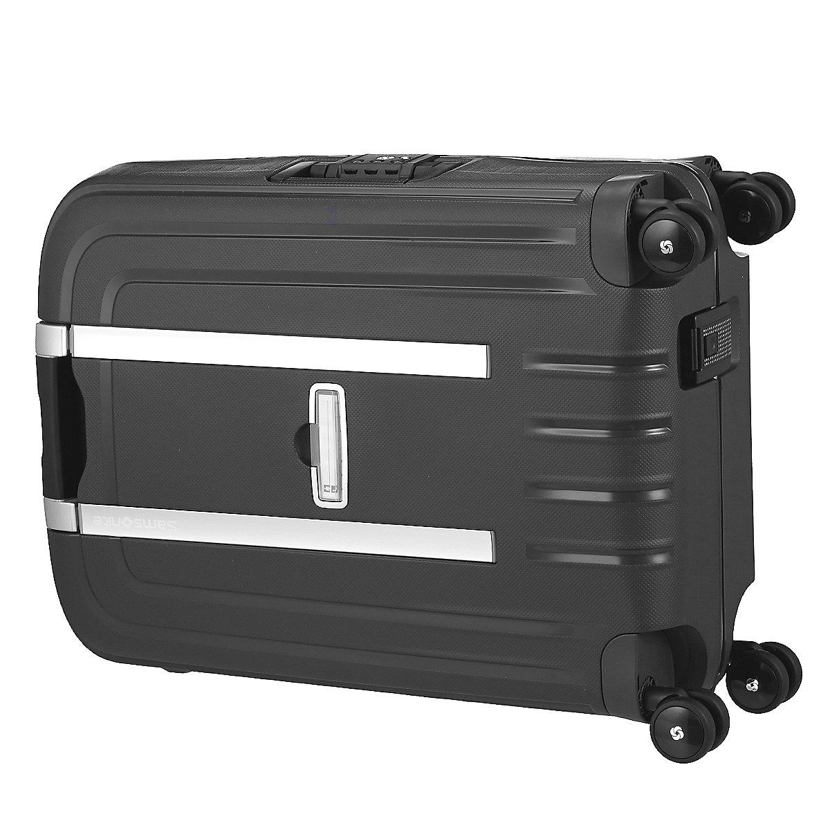 samsonite s cure dlx 4 rollen trolley 55 cm koffer. Black Bedroom Furniture Sets. Home Design Ideas
