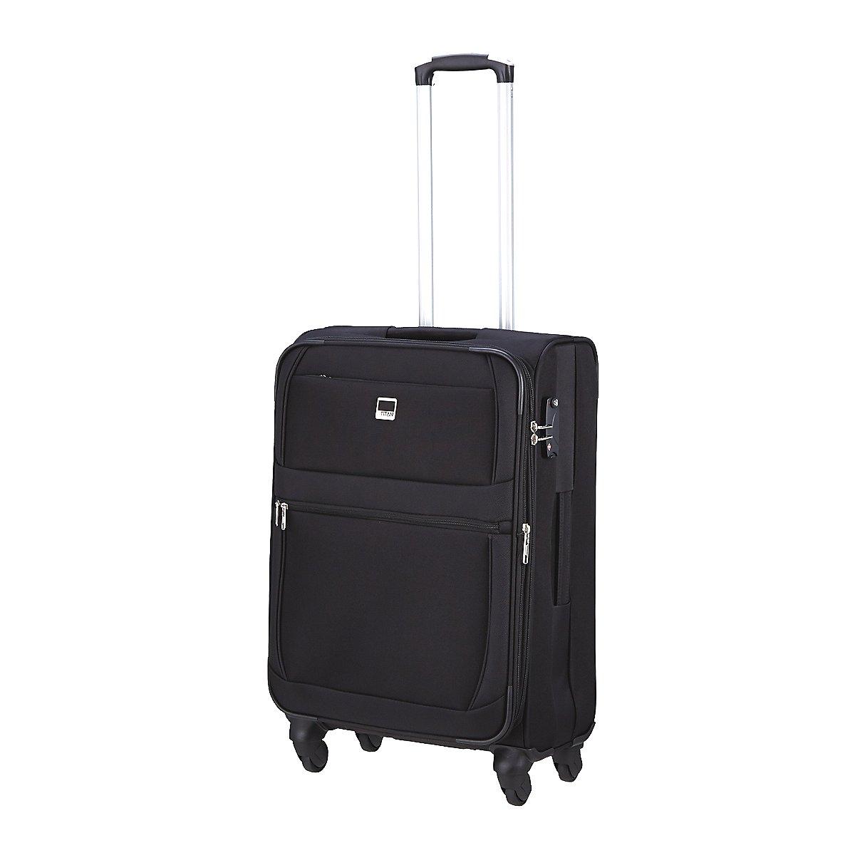 titan munich iii 4 rollen trolley 66 cm koffer. Black Bedroom Furniture Sets. Home Design Ideas