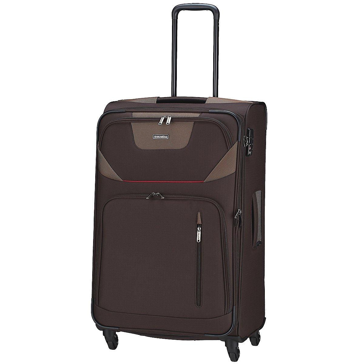travelite moderna 4 rollen trolley 66 cm koffer. Black Bedroom Furniture Sets. Home Design Ideas