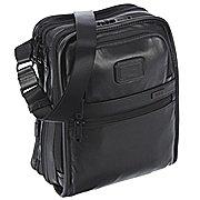 Tumi Alpha Travel Leather Umhängetasche 30 cm