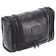 Tumi Alpha Travel Leather Kulturbeutel 30 cm