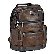 Tumi Alpha Bravo Leather Knox Rucksack mit Laptopfach 40 cm