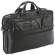 Tumi Alpha Business Leather Laptop-Aktentasche 44 cm