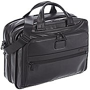 Tumi Alpha Business Leather Aktentasche 40 cm