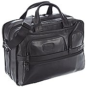 Tumi Alpha Business Leather Laptopaktentasche 40 cm