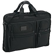 Tumi Alpha Business schmale Aktenmappe mit Laptopfach 44 cm