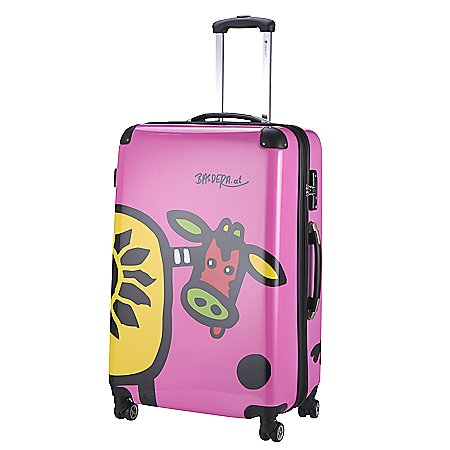 Check In Kuh Family 4-Rollen-Trolley 67 cm Editition 2014