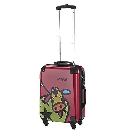 Check In Kuh Family 4-Rollen-Kabinentrolley-55 cm Edition 2014