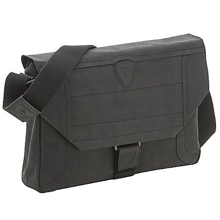 Strellson Hunter Messenger MH Umh�ngetasche mit Notebookfach aus Leder 38 cm