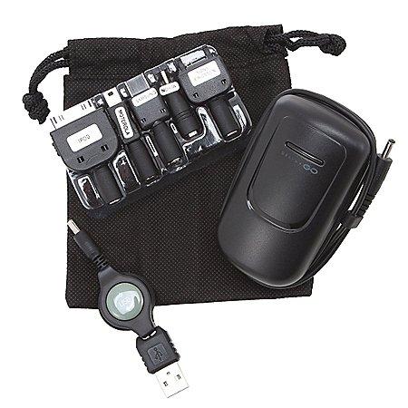 Design Go Reisezubehör Reiseladegerät lädt 2 Geräte gleichzeitig