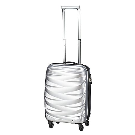 koffer-direkt.de Pure Wavelite 4-Rollen-Bordtrolley 50 cm