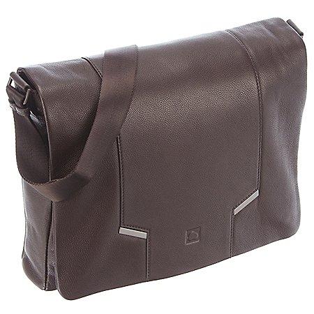 Delsey Haussmann Überschlagtasche mit Laptopfach 36 cm