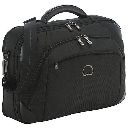 Delsey Quarterback + Laptoptasche mit 2 Fächern 39 cm
