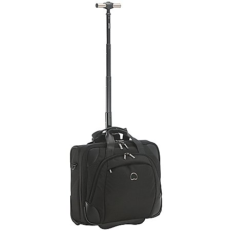 Delsey Quarterback + Trolley-Bordcase mit Laptopfach 43 cm