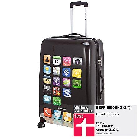 Saxoline Icons S-Pad TSA 4-Rollen-Trolley 77 cm