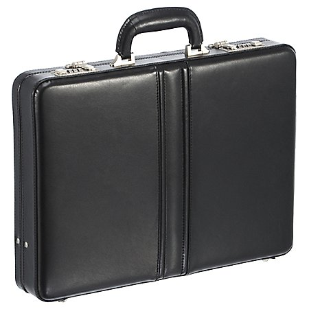 Dermata Business Aktenkoffer aus Leder 43 cm