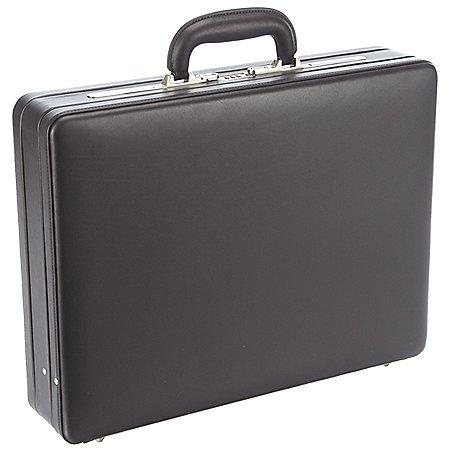 Dermata Business Aktenkoffer mit Dehnfalte 48 cm