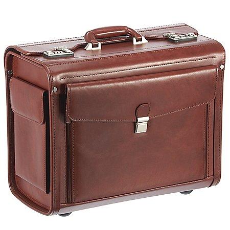 Dermata Business Pilotenkoffer Leder 45 cm