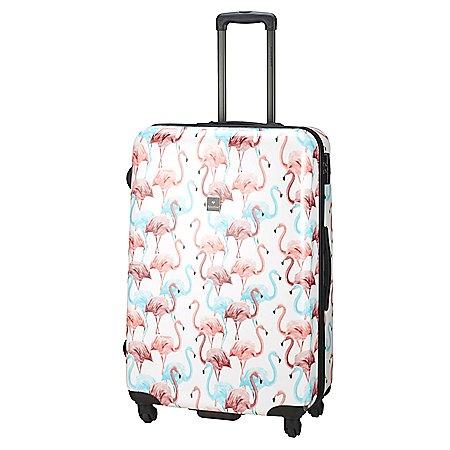 Saxoline Ivory Flamingo 4-Rollen-Trolley 77 cm