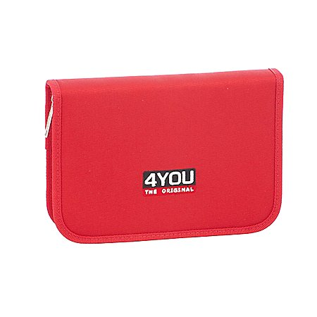 4 You Classic Edition Etui XL ungefüllt Federmäppchen 20 cm