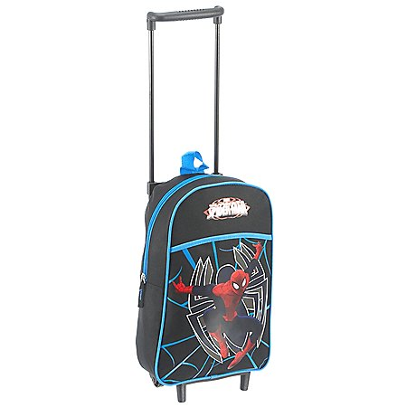 Fabrizio Spiderman 2-Rollen-Kindertrolley 41 cm