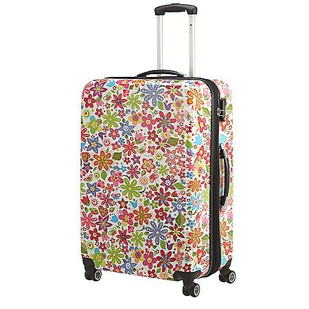 Check In Flower 4-Rollen-Trolley 76 cm