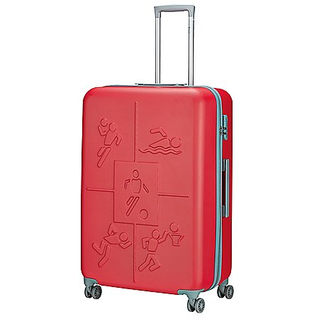 Check In Sports 4-Rollen-Trolley 78 cm