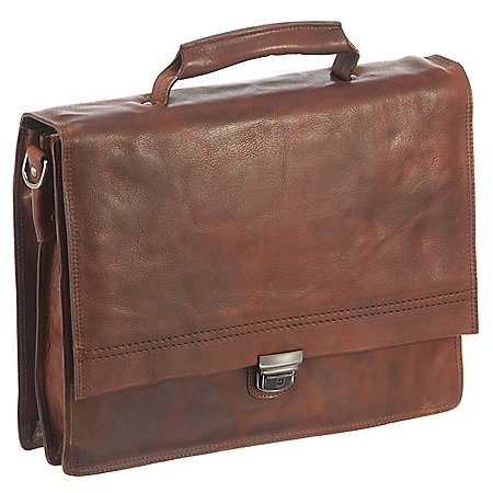 Harolds Saddle Mappe mit Laptopfach 37 cm