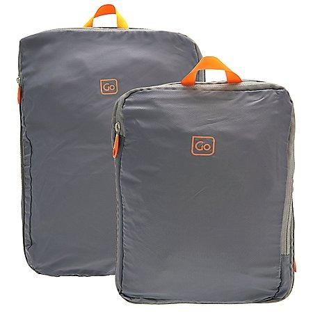 Design Go Reisezubehör 2er Set Zip Cubes Packtaschen