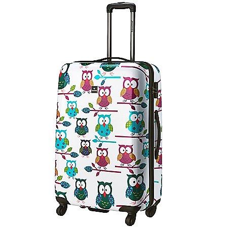 Saxoline Ivory Owls 4-Rollen-Trolley 77 cm