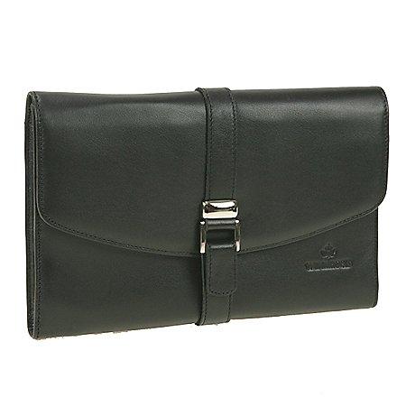 Windrose Nappa Schmucktasche XL aus Leder