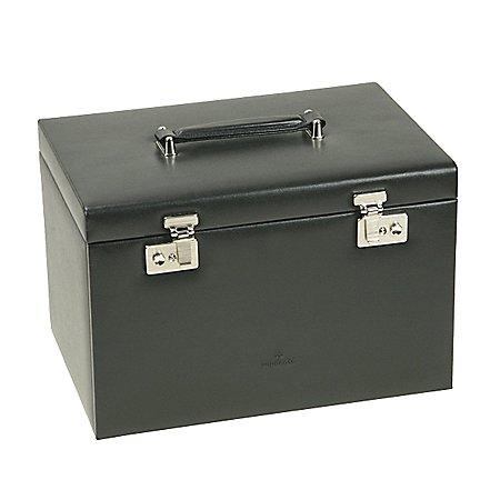 Windrose Ambiance Schmuckkoffer / Uhrenkoffer 5 Etagen aus Leder