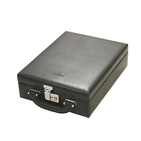Windrose Ambiance Safekoffer für Schmuck aus Leder